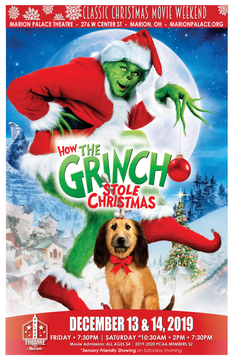 How The Grinch Stole Christmas Trailer 2020 Marion Palace Theatre » Blog Archive Classic Christmas Movie